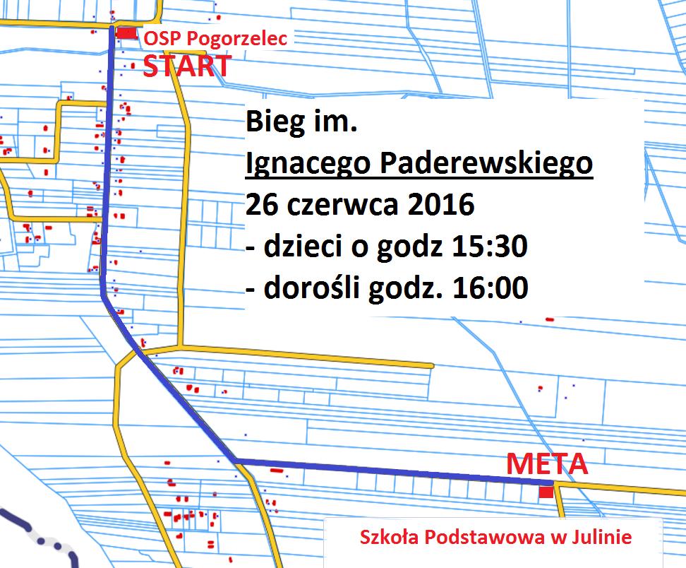 mapa biegu IP2016